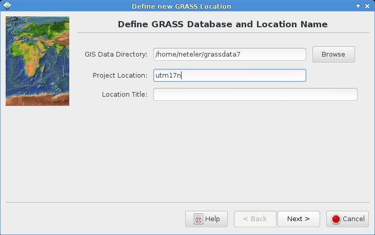 Processing Landsat 8 data in GRASS GIS 7: Import and