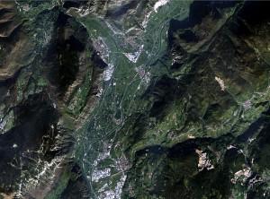 Landsat 8: San Michele - 1 Nov 2014