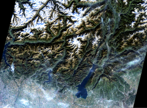 Landsat 8: Northern Italy 1 Nov 2014