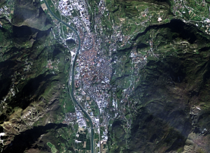 Trento captured by Landsat8