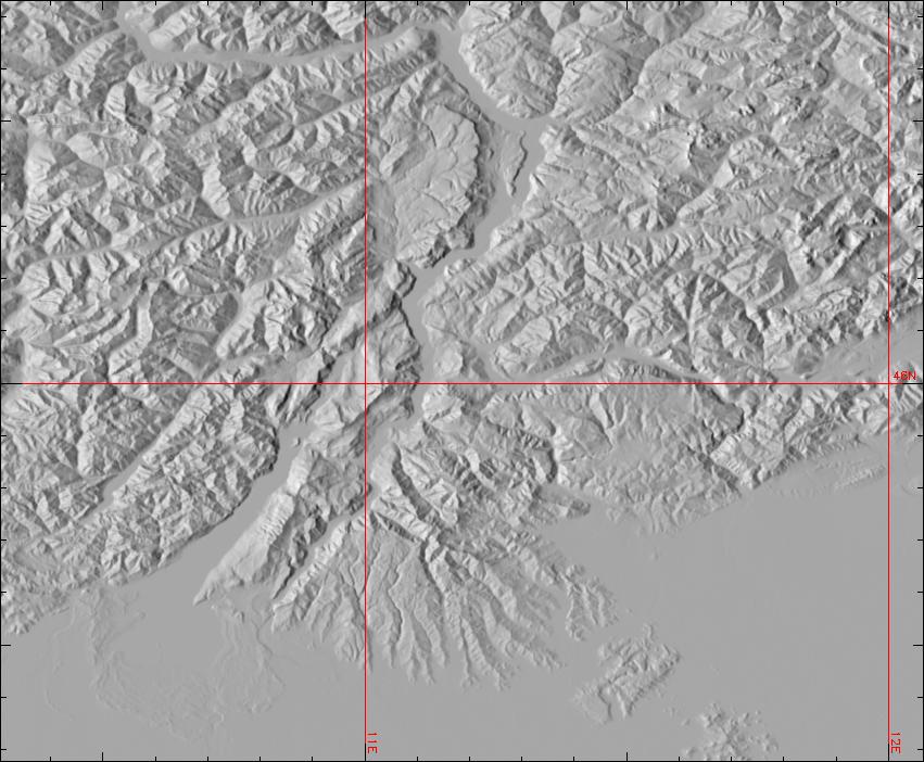 New Data Set Global Multiresolution Terrain Elevation Data - Terrain elevation data